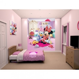 WALLTASTIC® FOTOTAPETA 203 X 243CM MINNIE MOUSE